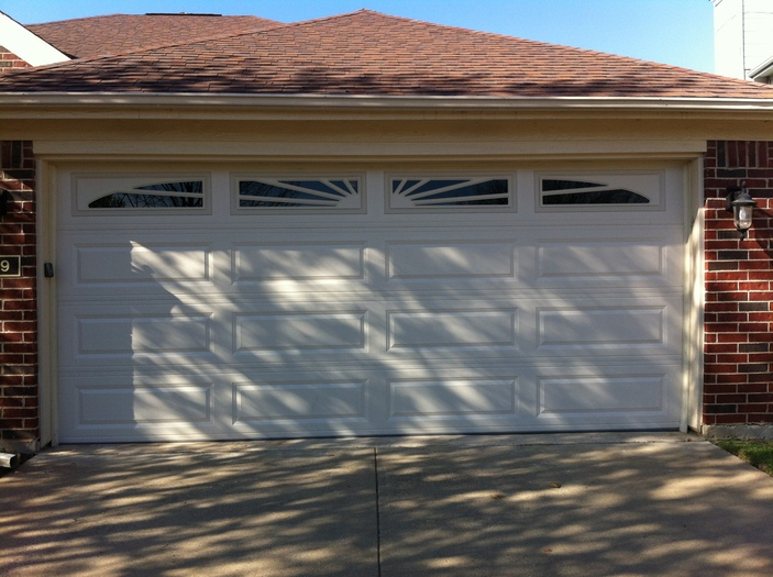 Steel Panel Garage Doors Open Up Garage Doors